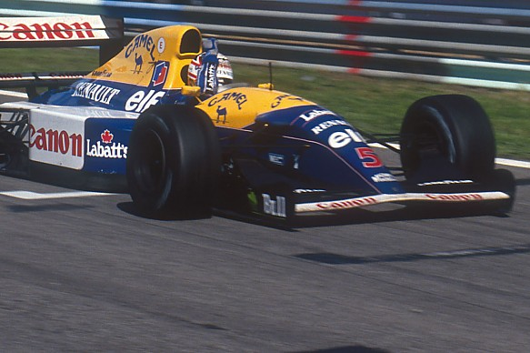 Nigel Mansell Williams Portuguese Grand Prix 1992