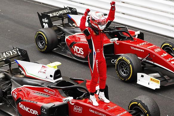 Antonio Fuoco Formula 2 Monaco Sprint Race