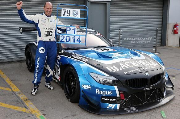 Attard Barwell British GT 2014