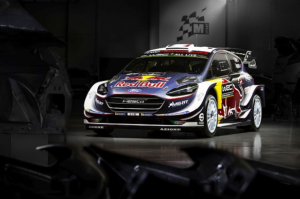 M-Sport Ford Fiesta WRC 2018