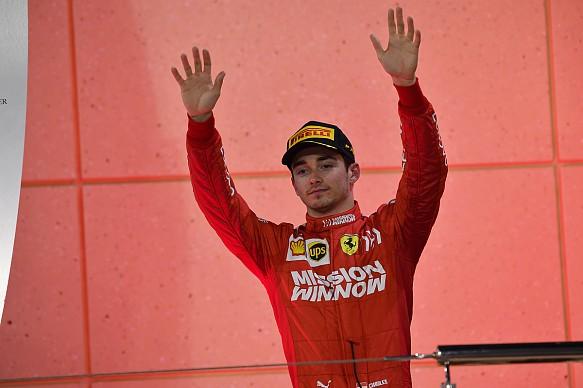 Charles Leclerc Ferrari Bahrain Grand Prix 2019