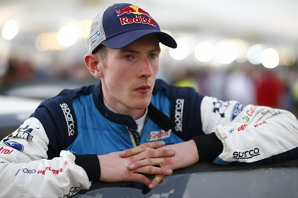 Elfyn Evans M-Sport WRC Corsica 2019
