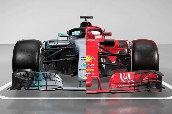 Mercedes Ferrari comparison tech 2018