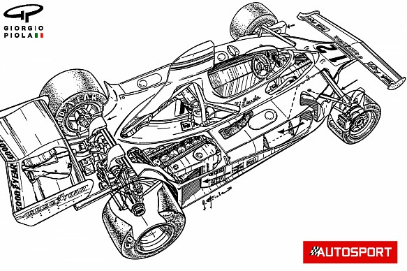 Lauda Ferrari 312T 1975 Piola