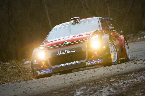 Kris Meeke Citroen WRC Monte Carlo 2018