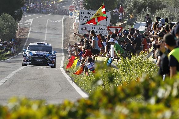 Ken Block Ford Fiesta RS WRC Rally Catalunya 2014