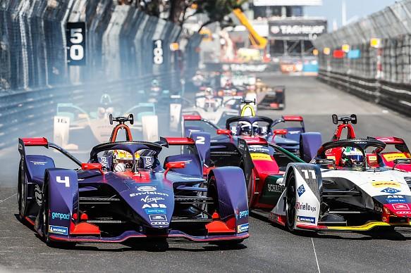 Robin Frijns Lucas Di Grassi Formula E Monaco 2019