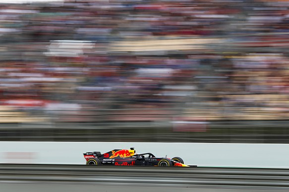 Daniel Ricciardo Red Bull Spain 2018