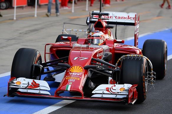 Jules Bianchi Ferrari test 2014