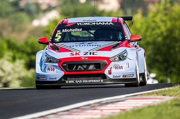 Norbert Michelisz Hyundai WTCR Hungary 2018