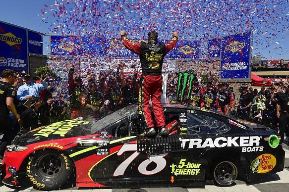 Martin Truex Jr wins Sonoma NASCAR 2018