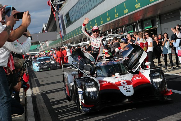Alonso Toyota wins Silverstone WEC 2018