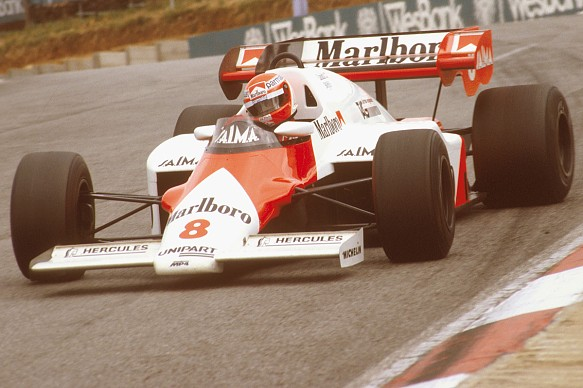 Niki Lauda McLaren F1 1984