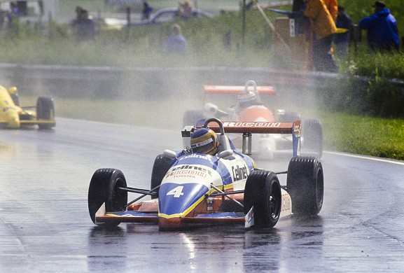 Martin Donnelly British F3 Thruxton 1988