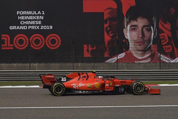Charles Leclerc Ferrari Chinese GP 2019