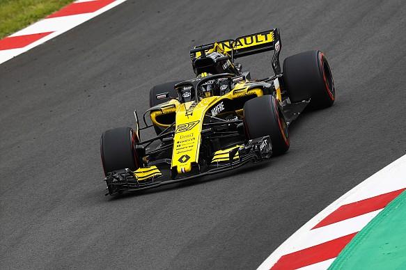 Nico Hulkenberg Renault F1 2018 Spain