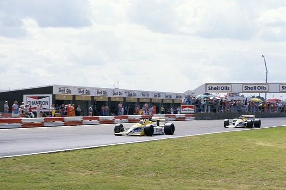 Piquet Mansell Silverstone 1987 F1