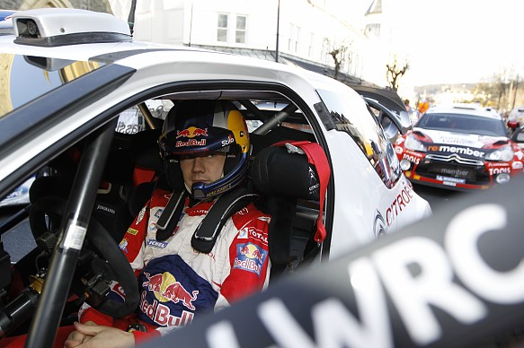 Sebastien Ogier Citroen WRC 2011