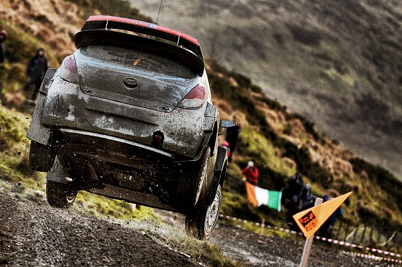 Thierry Neuville Hyundai WRC Rally GB 2014