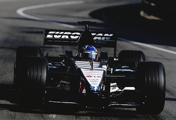 Fernando Alonso Minardi 2001 Monaco Grand Prix