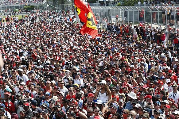 F1 fans Canada 2017