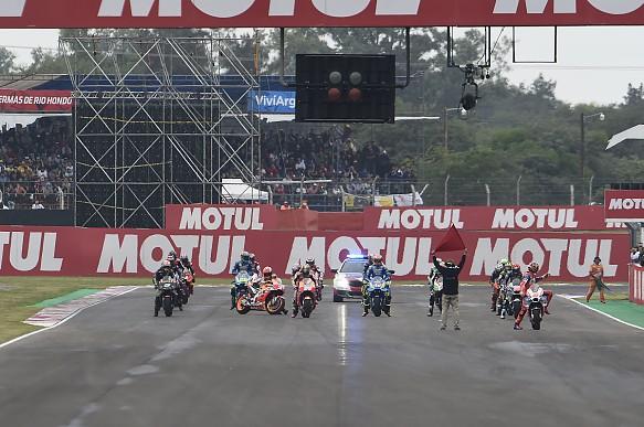 Marc Marquez MotoGP Argentina 2018 grid