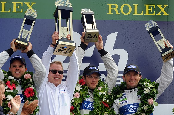 2016 Ford Le Mans 24 Hours victory