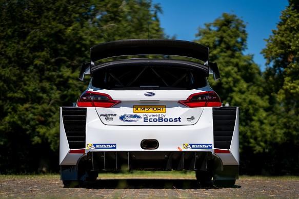 M-Sport WRC Ford Fiesta new aero