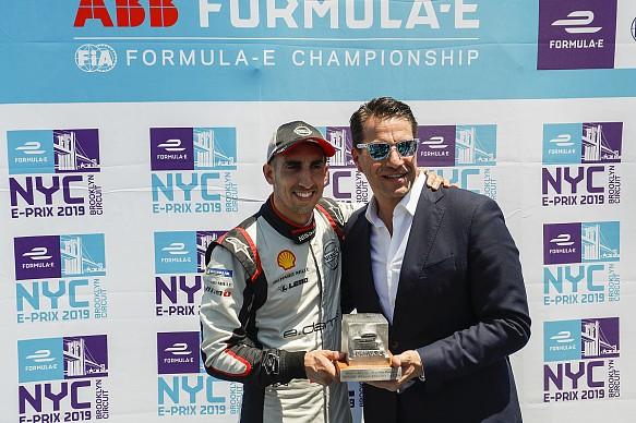 Sebastien Buemi Nissan New York Formula E 2019