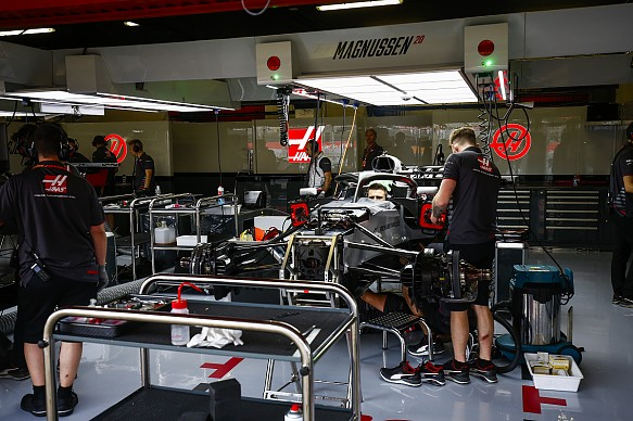 Haas F1 Spanish Grand Prix 2018
