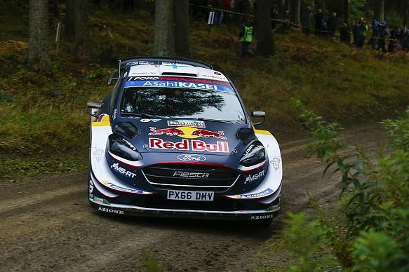Teemu Suninen 2018 WRC Rally GB