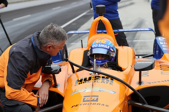 Fernando Alonso McLaren Indy 500 test 2019