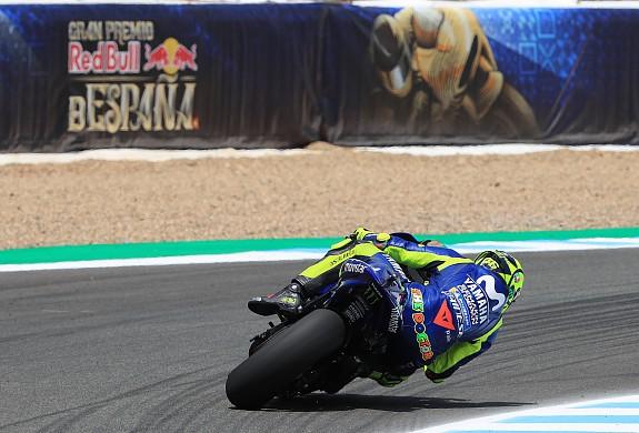 Valentino Rossi Yamaha Jerez MotoGP 2018