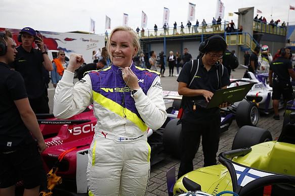 Emma Kimilainen W Series Assen 2019