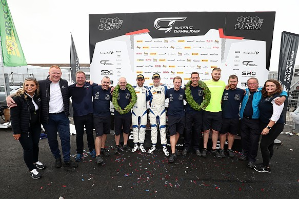 TF wins British GT 2019