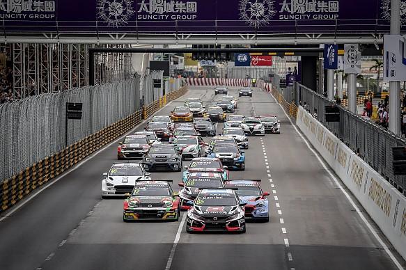 Esteban Guerrieri WTCR Macau start 2018