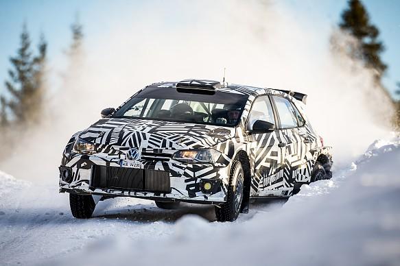 Petter Solberg VW R5 test