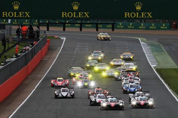 WEC Silverstone 2017 start