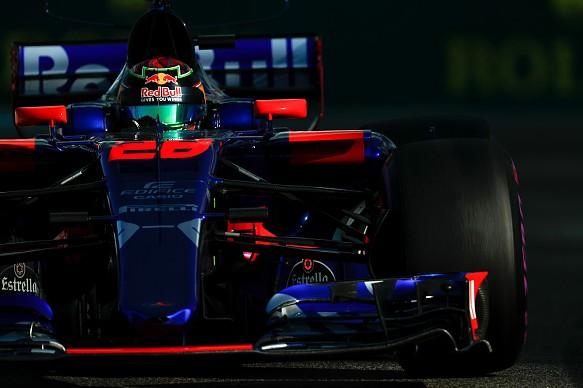 Brendon Hartley Toro Rosso Abu Dhabi GP 2017