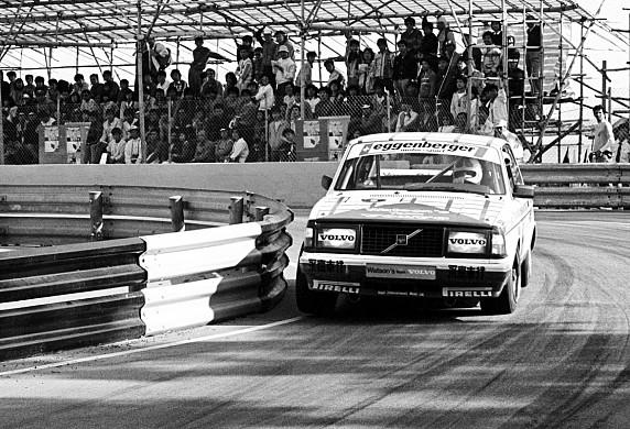 Eggenberger Volvo 1985 Macau Sutton
