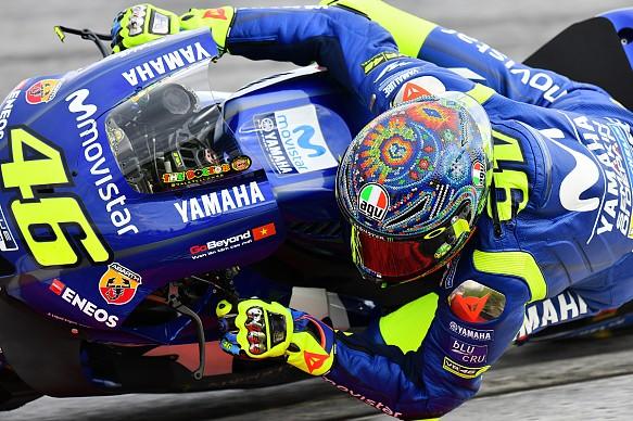 Valentino Rossi Yamaha Speang MotoGP test 2018