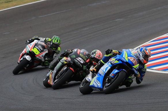 Alex Rins Suzuki MotoGP Argentina 2018