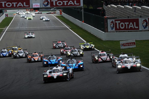 Toyota Spa 6 Hours start 2019