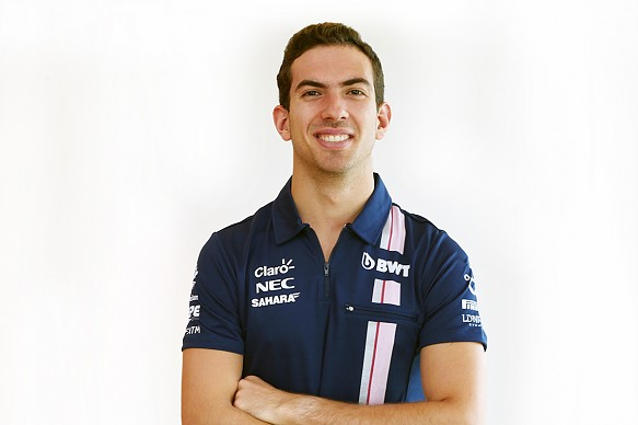 Nicholas Latifi Force India F1 2018