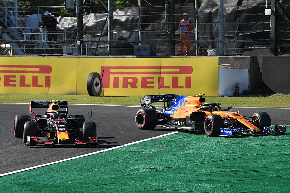 Albon Norris Suzuka F1 2019