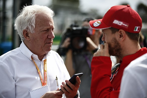 FIA race director Charlie Whiting Australian Grand Prix 2019