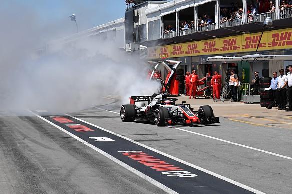 Romain Grosjean Haas Canadian Grand Prix 2018