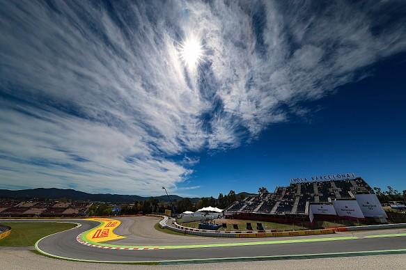 Spanish GP F1 atmosphere