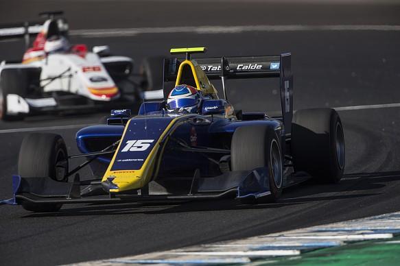 Tatiana Calderon DAMS GP3 Abu Dhabi 2017