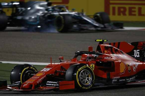 Mercedes Ferrari F1 2019